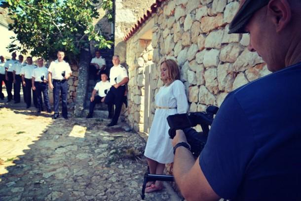 Snimanje spotova za Klapu Sv.Juraj